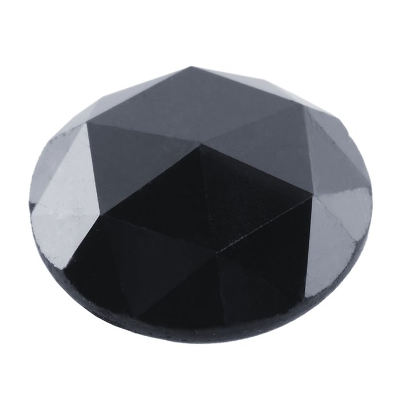 quality loose rose cut black diamonds