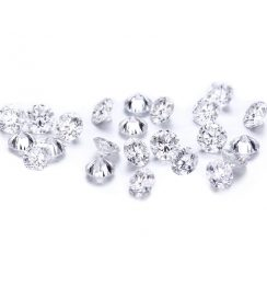 1 Carat G VVS1/2 Diamond Round Brilliant Cut Lot