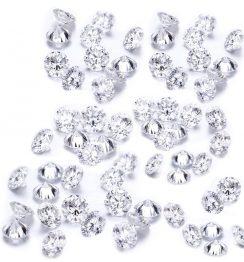 1 Ct G VVS Diamond Lot Round Brilliant Cut (1)