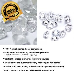 100 diamond natural