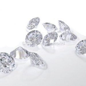 Excellent natural round cut loose diamonds