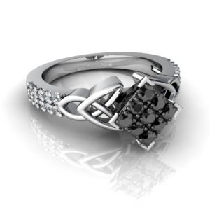 square wedding rings
