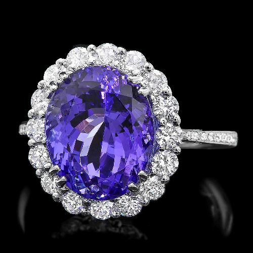 solitaire wedding rings custom ring engagement tanzanite