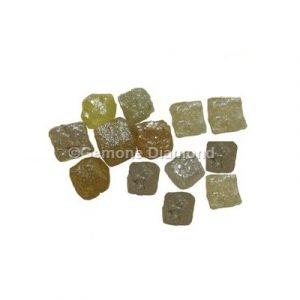 natural raw uncut Congo cubes diamonds