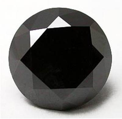 Round Cut Black Diamond From Gemome Diamond Online For