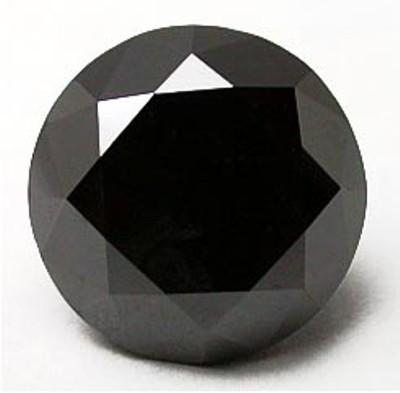 Loose Round Cut Black Diamond From Gemone Diamonds Online