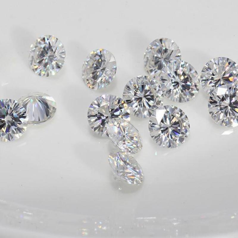 Natural Loose Diamonds SI1/SI2 Clarity G/H Color Round Brilliant Cut