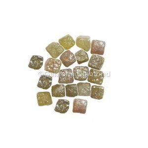 uncut congo cube rough diamonds lot
