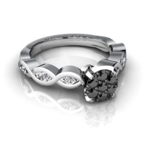 cheap white gold wedding rings
