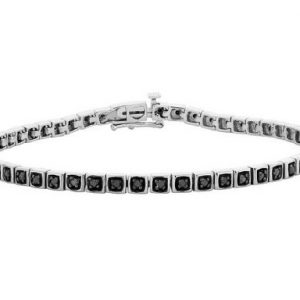 diamond genuine tennis bracelet