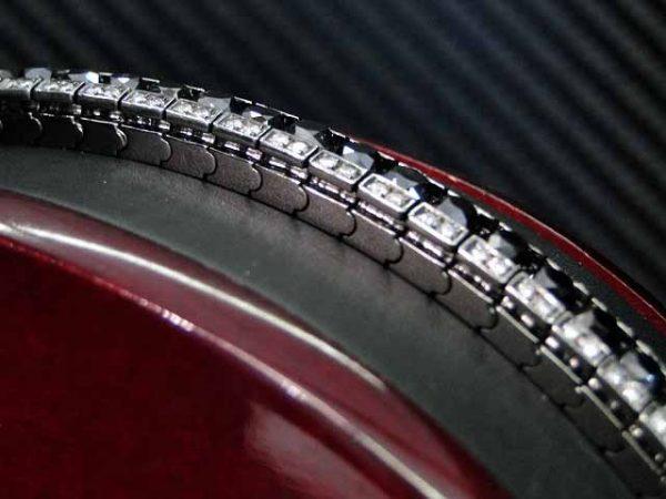 White Gold Tennis Bracelet