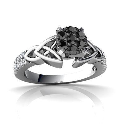 cheap diamond rings in 14k white gold with certified. Black Bedroom Furniture Sets. Home Design Ideas