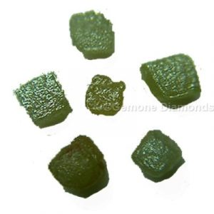 natural rough uncut diamond congo cubes