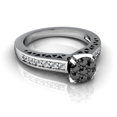 artistic wedding ring