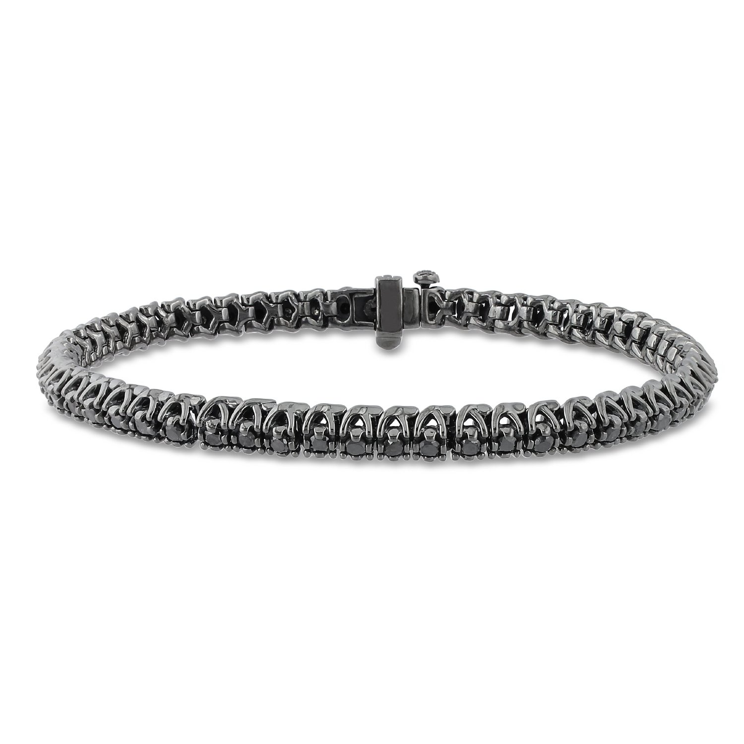 diamond c channel bracelets bracelet black white gold jewelry