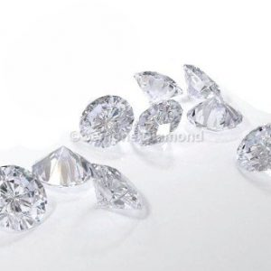 loose diamond white round brilliant