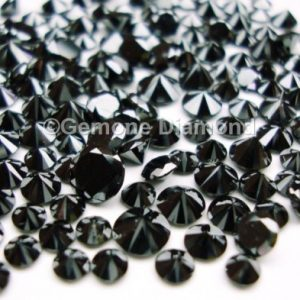 5 carat black diamonds lot