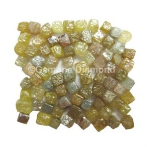 natural rough congo cube diamonds