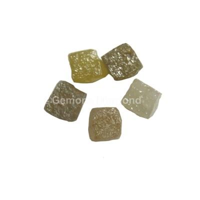 Rough Congo Cube Shape Loose Diamonds