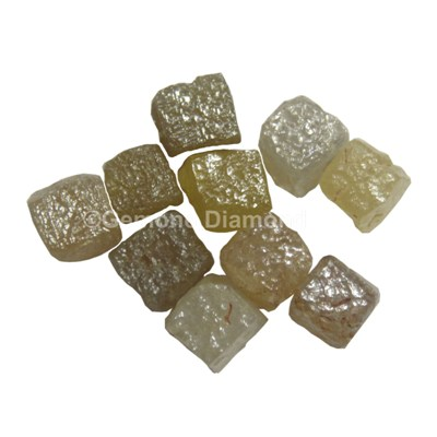 Natural Uncut Rough congo cube Diamonds