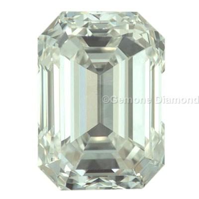 loose emerald-cut diamonds