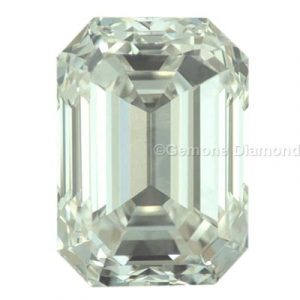 emerald cut loose diamond