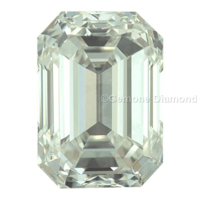 emerald cut loose diamond