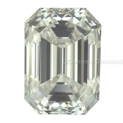 loose emeraldcut diamonds from gemone diamond with gia