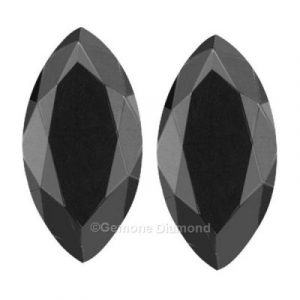 black marquise diamonds