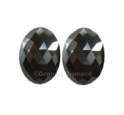Oval Diamond Pair 1 Carat For Stud Earrings Online In Aaa
