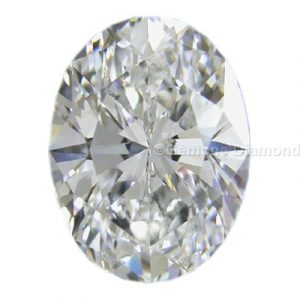diamond oval cut