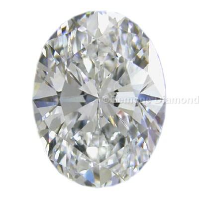 diamond oval cut