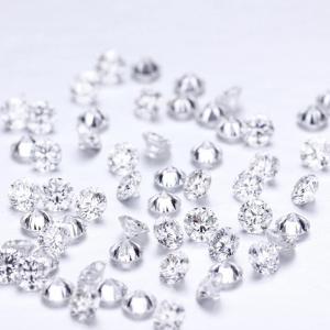 loose white diamonds
