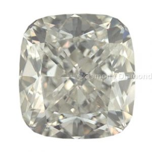 cushion-cut diamond