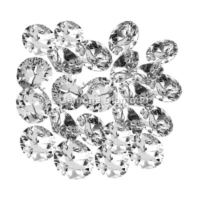 round diamonds loose lot