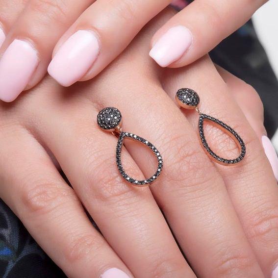 black diamond jewelry