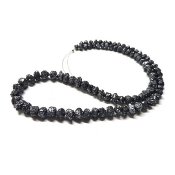 black diamond uncut beads