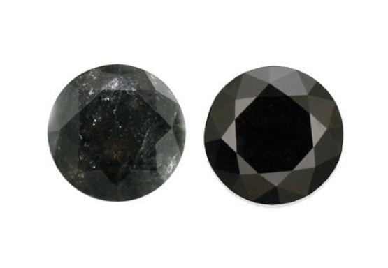 black diamond vs moissanite