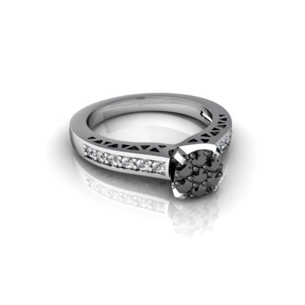 artistic wedding ring
