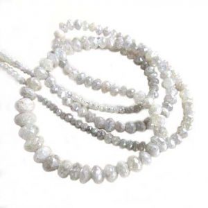 faceted diamond beads