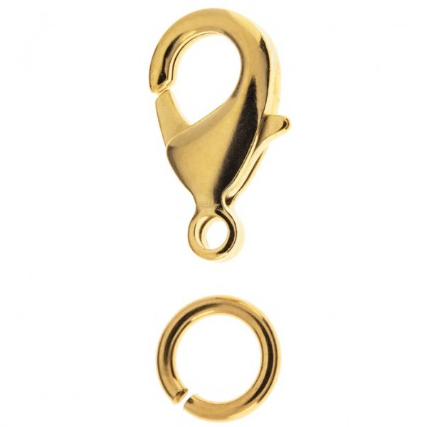 gold clasp for beads