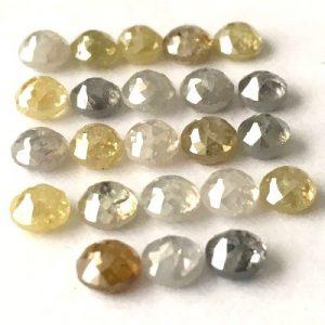 old rose cut diamonds
