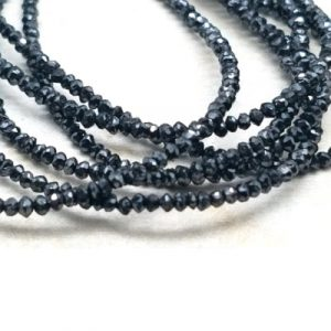 Faceted Black Diamond Beads Price