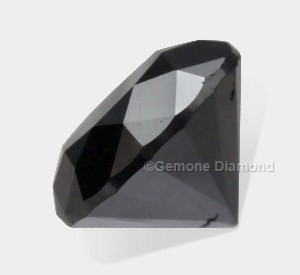 round-cut black diamond