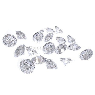 natural loose diamonds white round brilliant lot