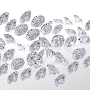 loose diamonds white round Shaped brilliant lots
