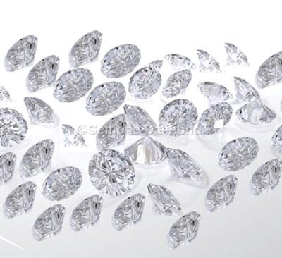 natural loose white diamonds round brilliant lot