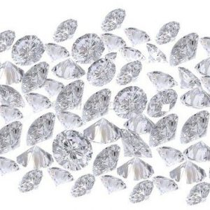 white round brilliant cut diamonds