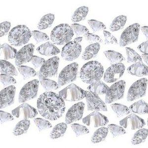 natural loose diamond white round brilliant lot