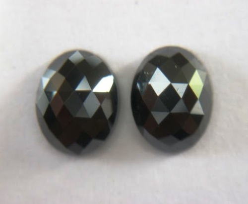 Loose black diamonds